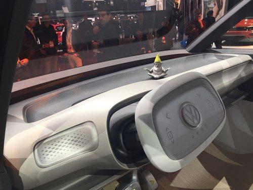 Innenraum VW-Buzz