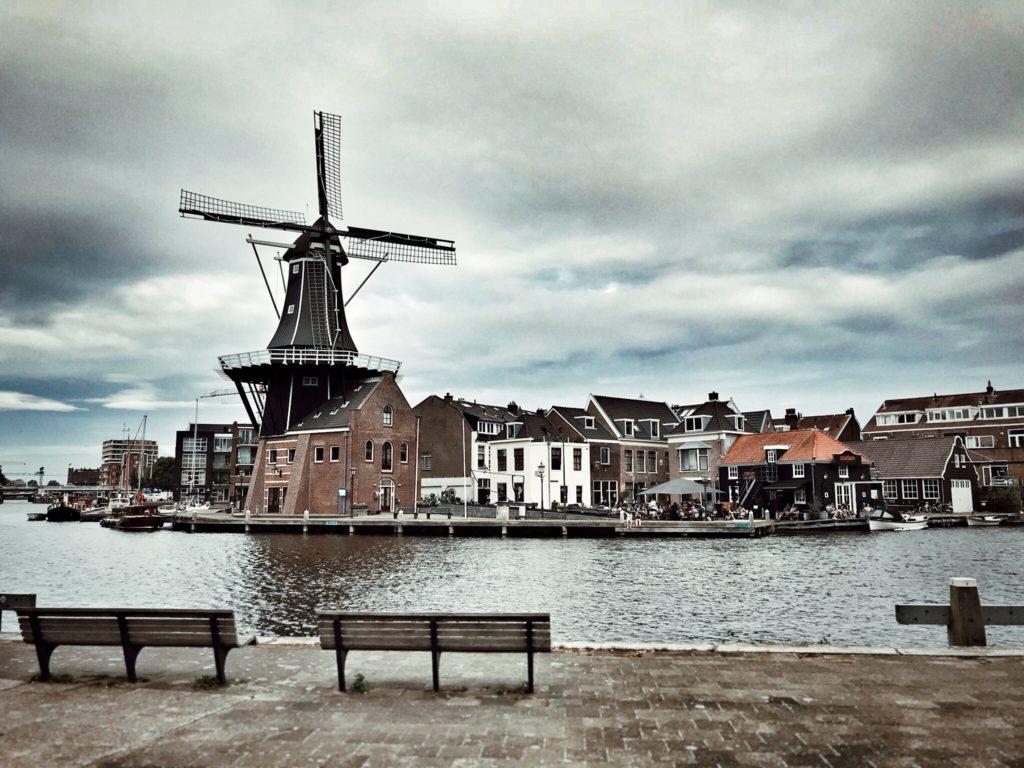 Niederlande-Haarlem-Zuidam-Windmühle