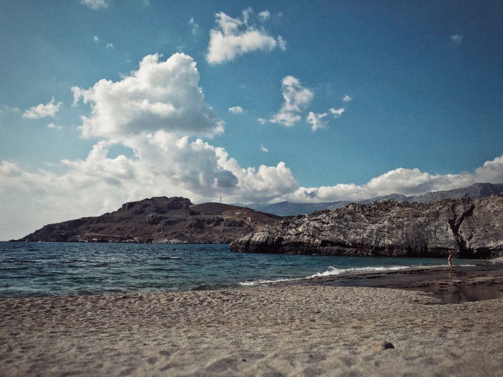 Ammoudi Beach, Kreta, Griechenland