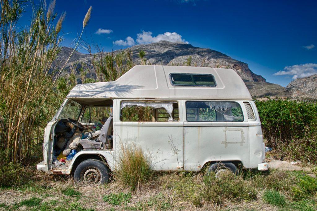 VW T2 auf Kreta